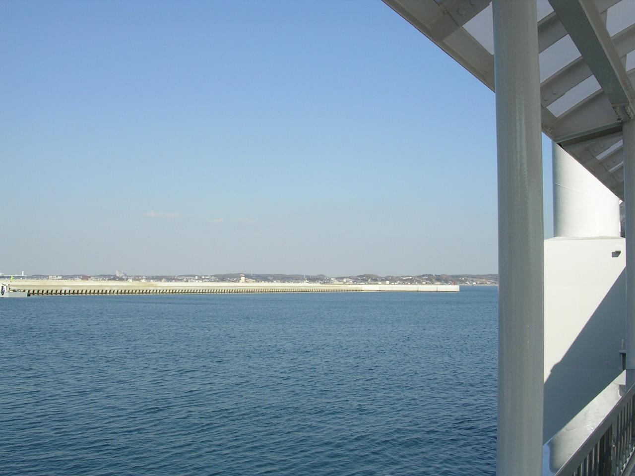船乗り場からの眺め