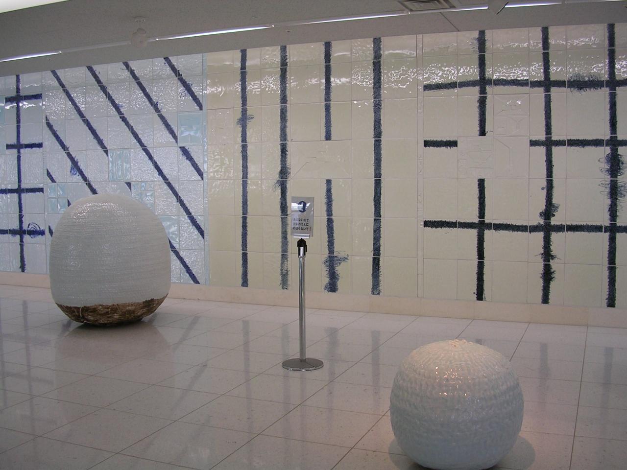 ターミナルビル1階のスペース