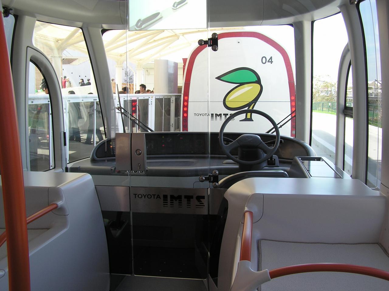 IMTSの運転席