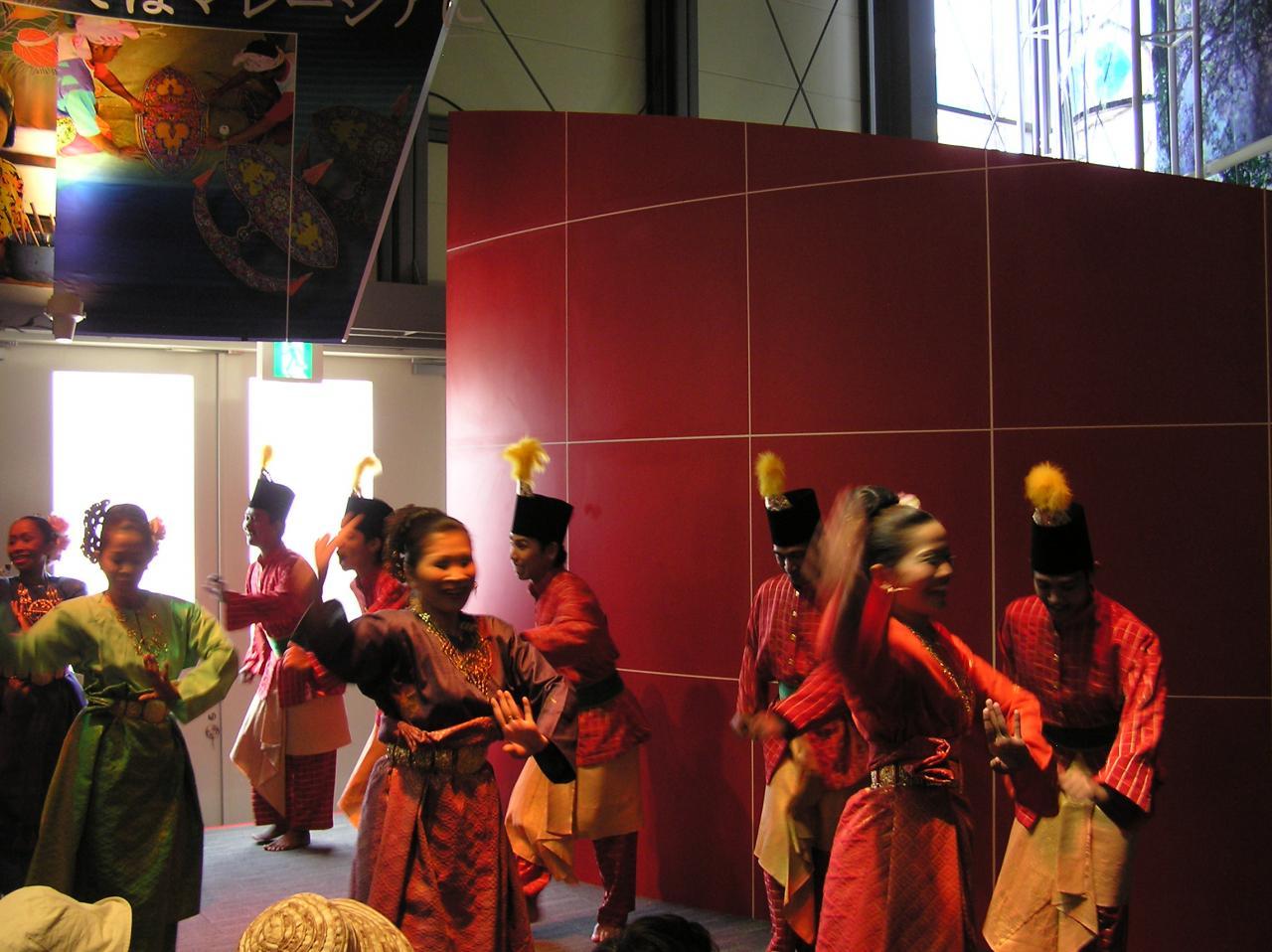 マレーシアダンス