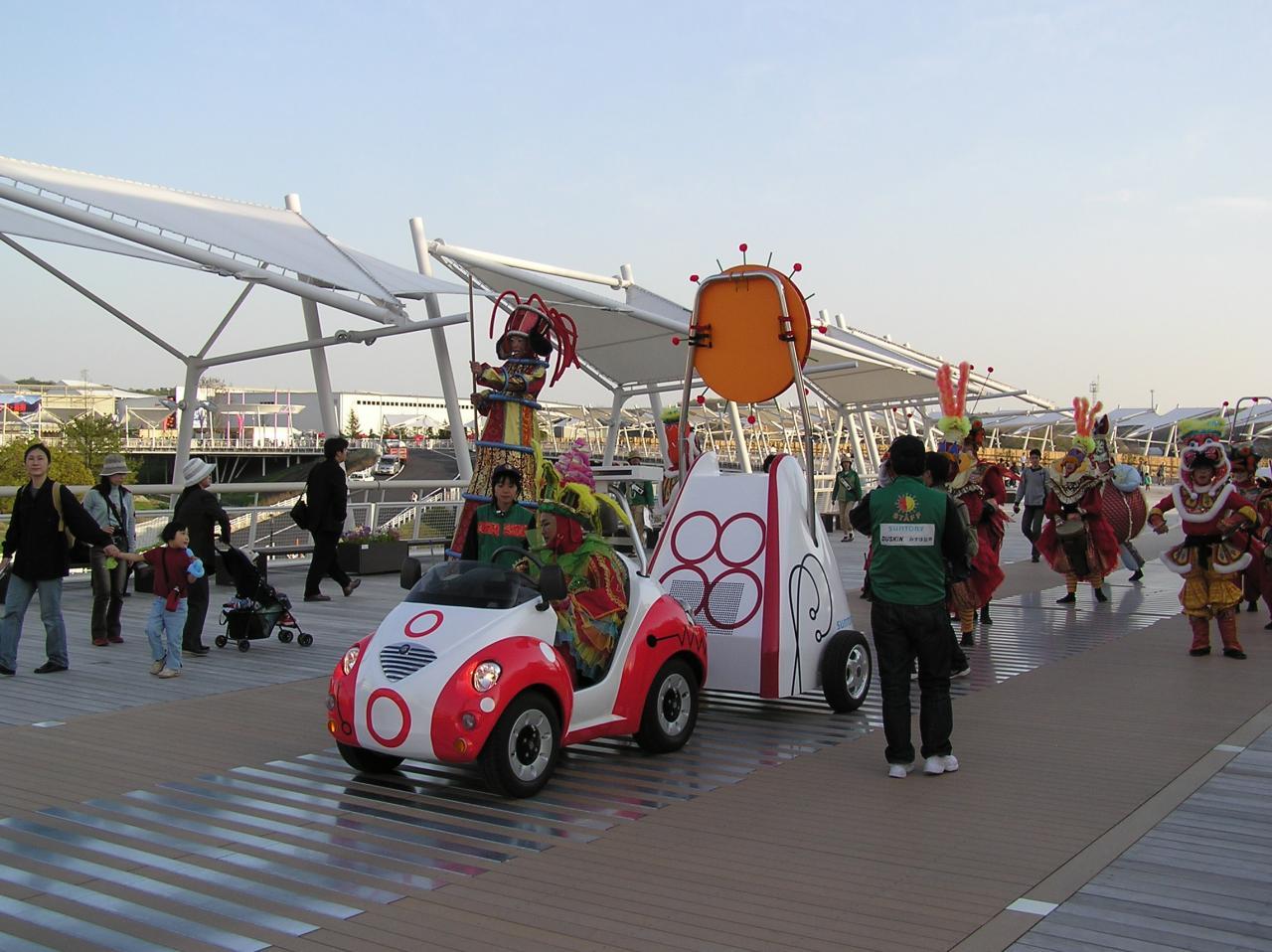グローバル・ループ上のパレード