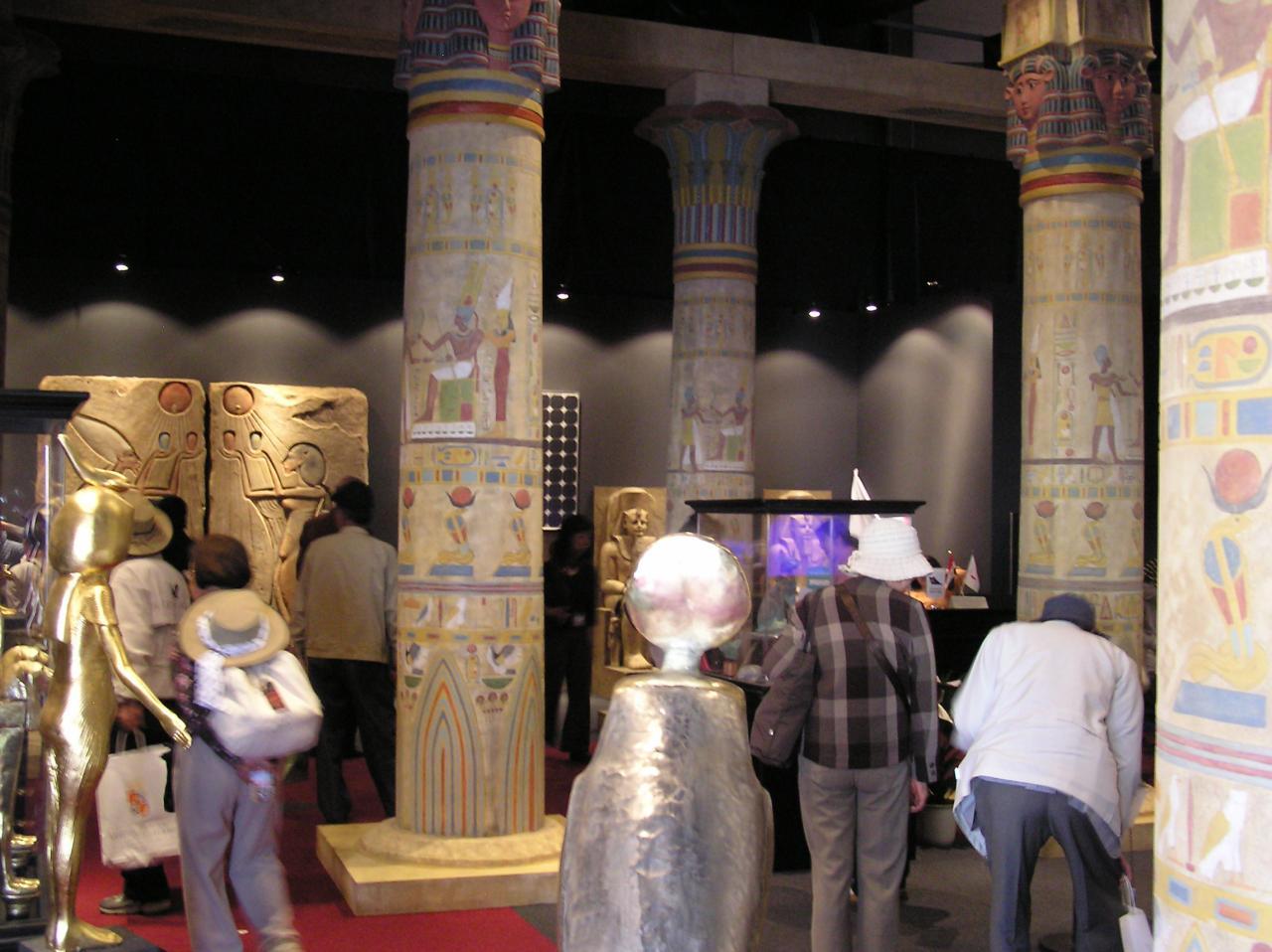 エジプト館の雰囲気