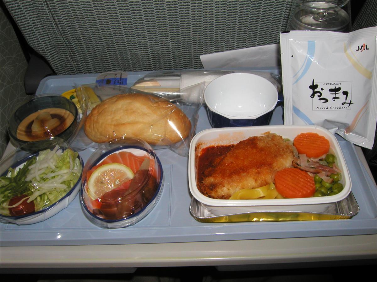 日本航空(JAL)機内食(1)