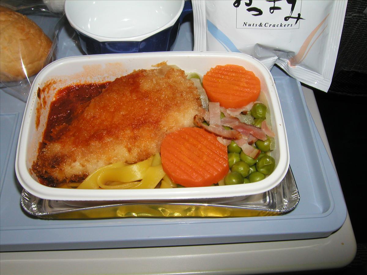 日本航空(JAL)機内食(2)