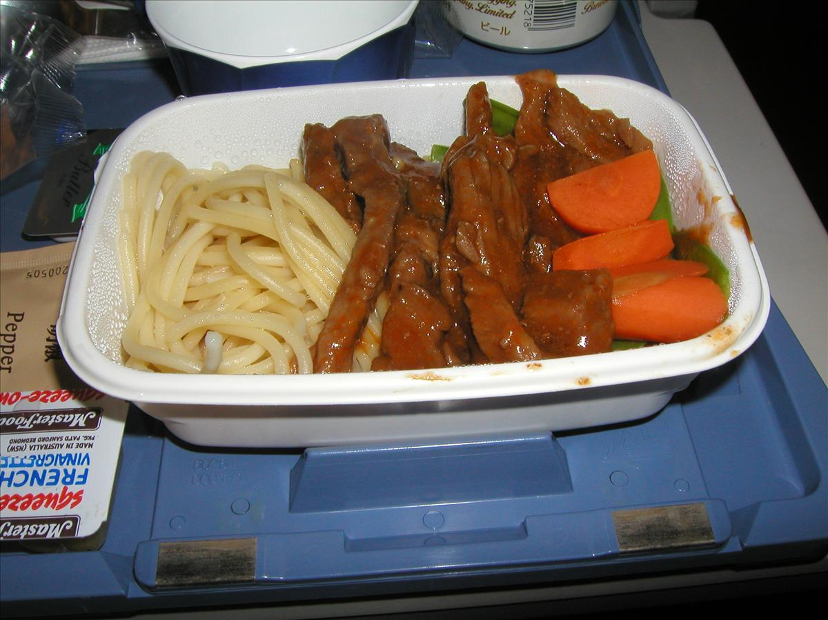 日本航空(JAL)機内食(5)