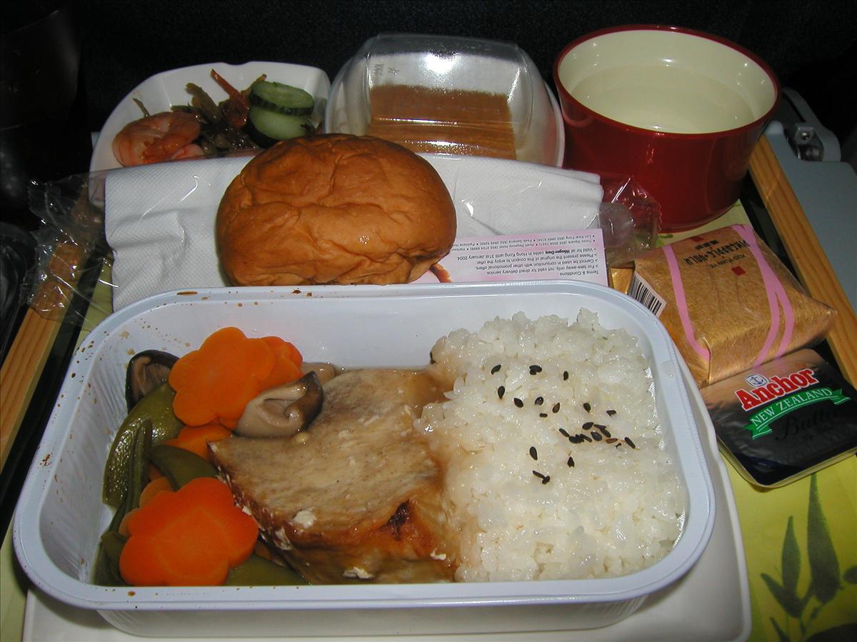 キャセイ航空(CX)機内食(1)