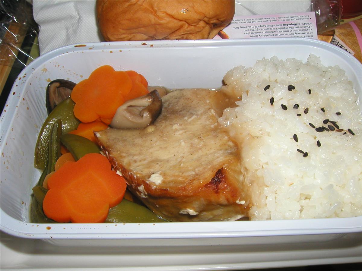キャセイ航空(CX)機内食(2)