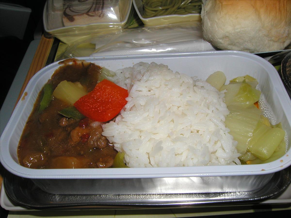 キャセイ航空(CX)機内食(3)