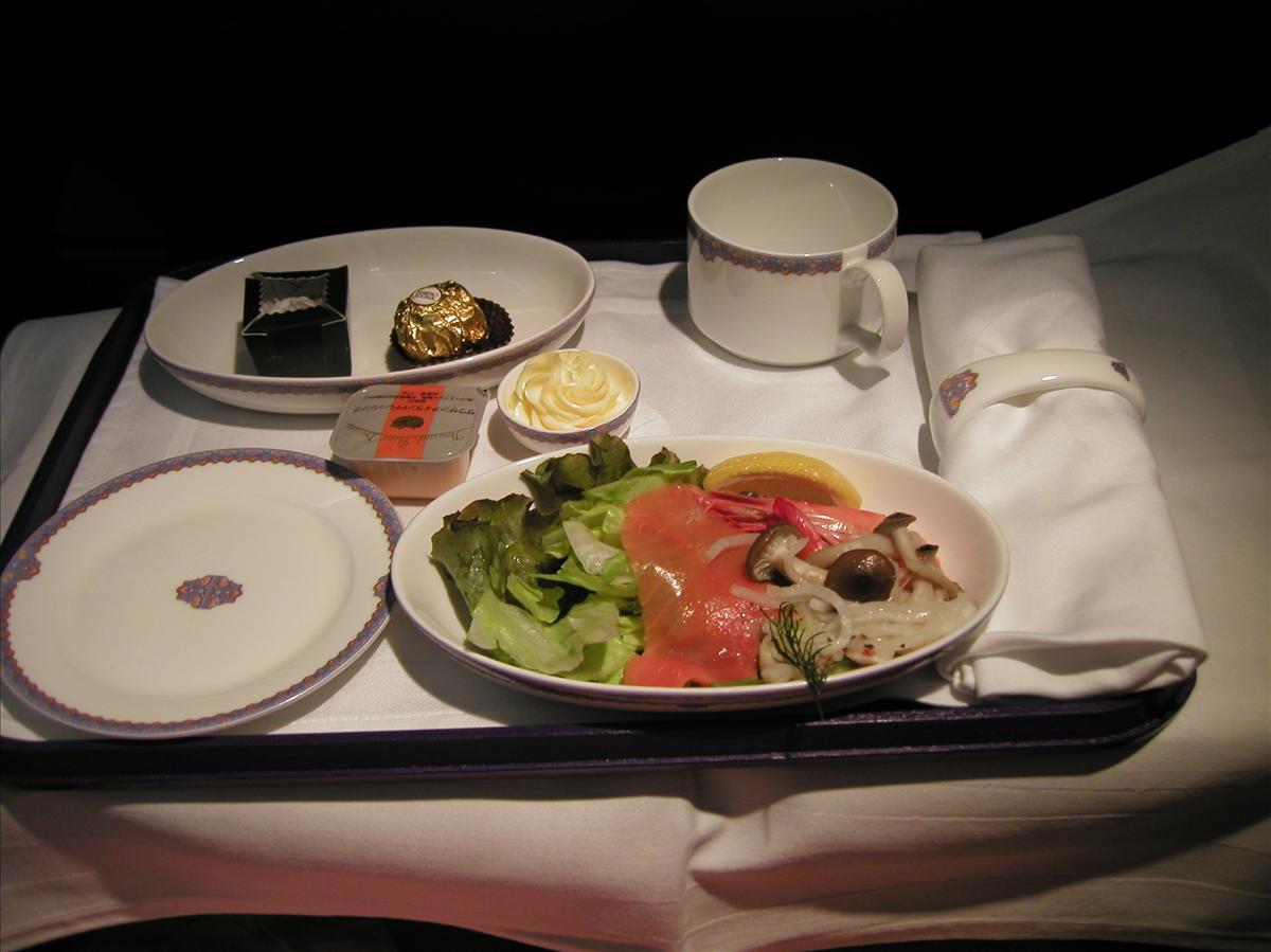 中国東方航空(MU)機内食(1)