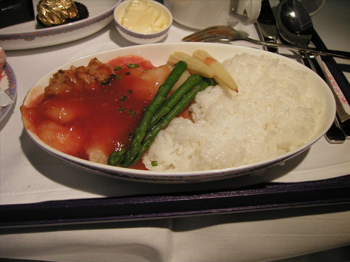 中国東方航空(MU)機内食(2)