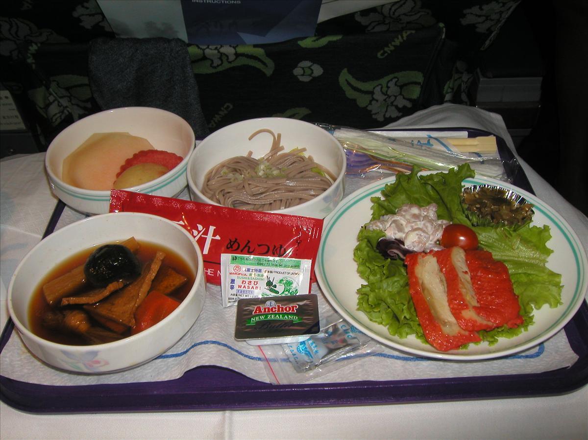 中国東方航空(MU)機内食(4)