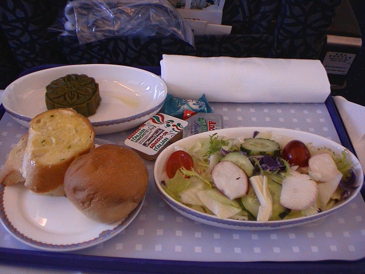 中国東方航空(MU)機内食(前菜)