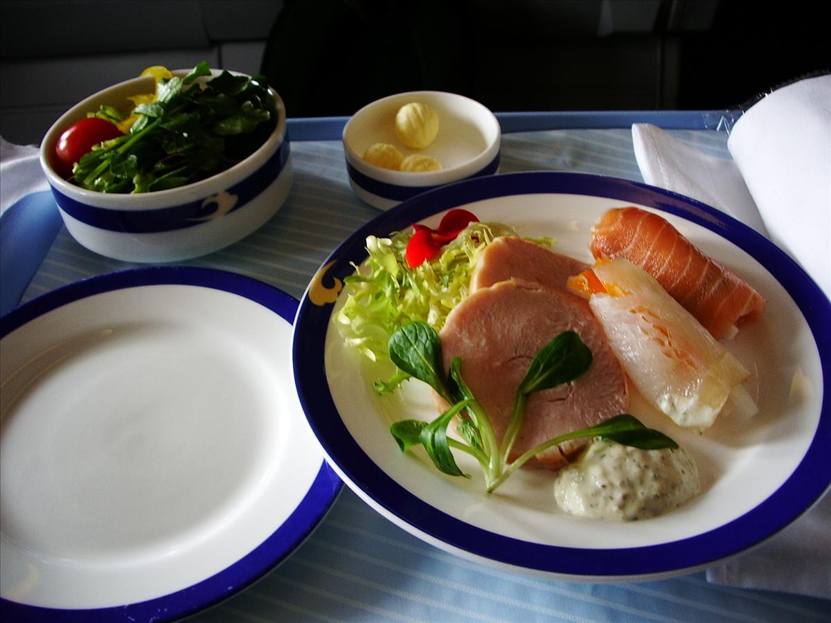 中国国際航空(MU)機内食(前菜)