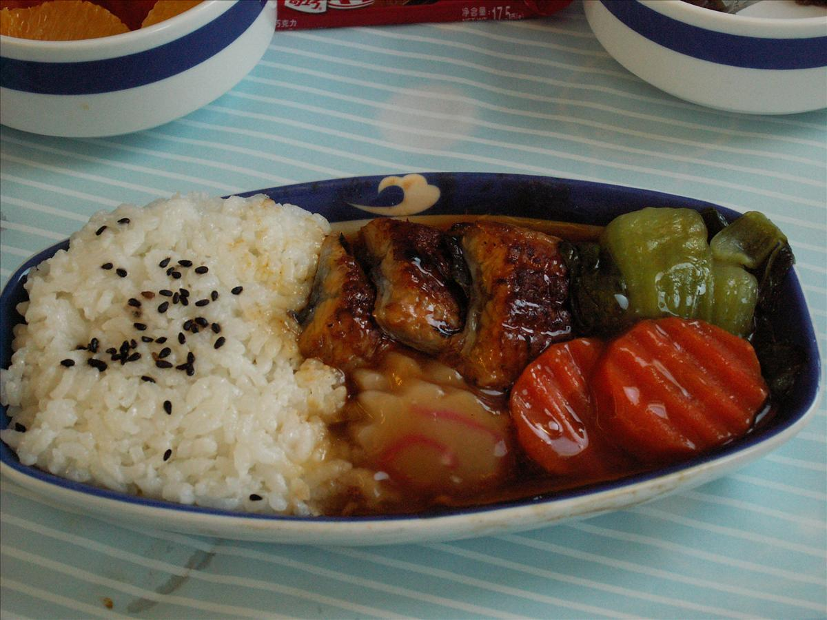 東京へ中国国際航空(CA)機内食(メイン)