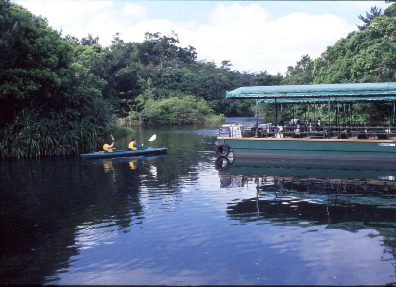 ビオスの丘湖水観賞船