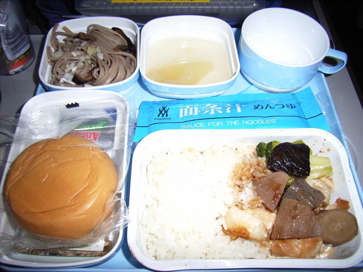 中国国際航空(CA)夏機内食