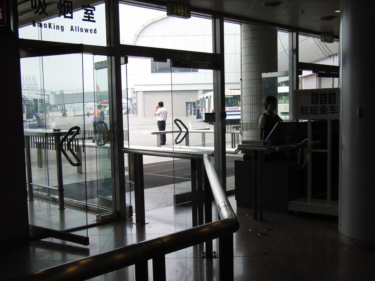 北京空港 NO44搭乗口