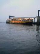 日の出埠頭のお台場行き船