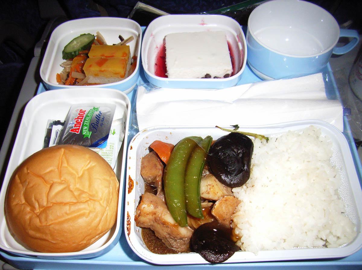 中国国際航空(CA)421便機内食(9月)