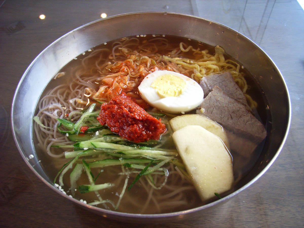 北京空港内レストラン『飛仙』の冷麺