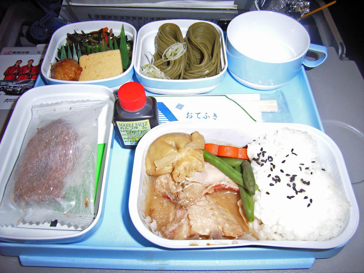 中国国際航空(CA)422便(9月)機内食