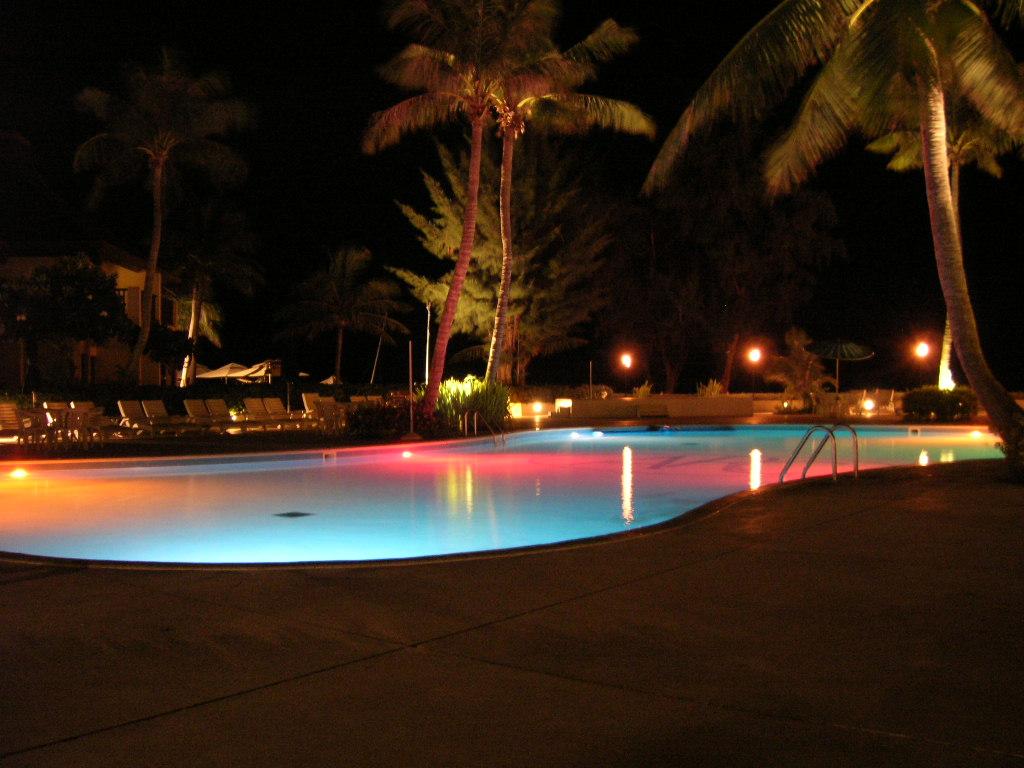 アクアリゾートホテルのプール