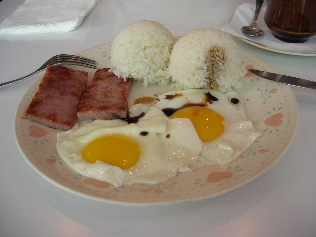 朝食メニュー1