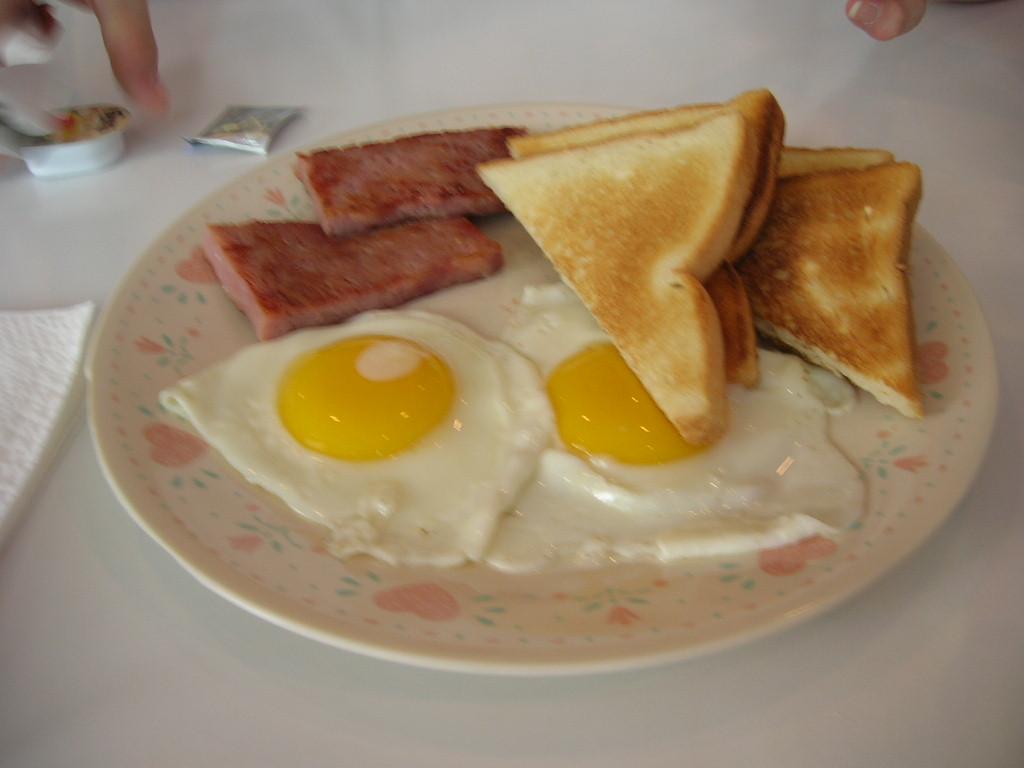 朝食メニュー2
