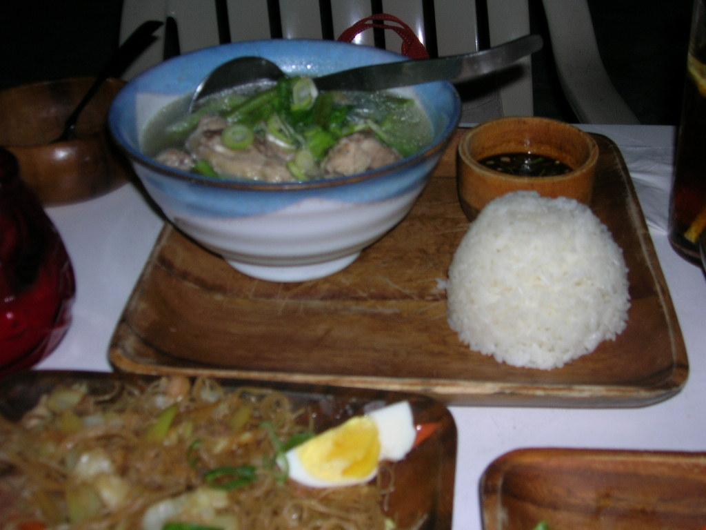 鶏肉スープ、チャモロ風