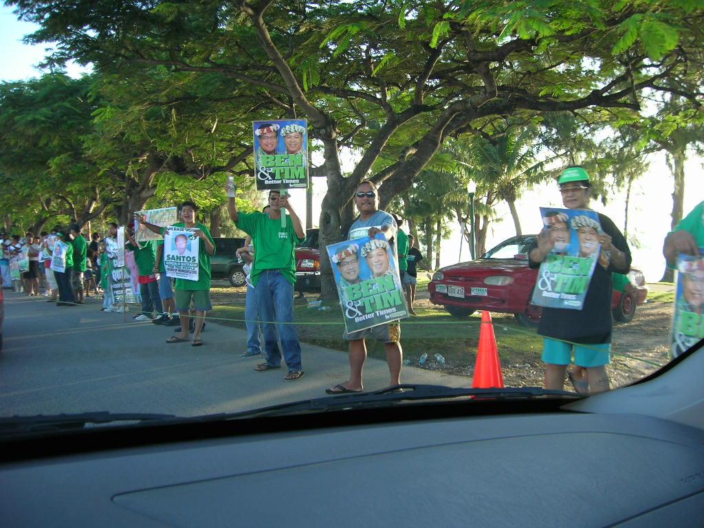サイパンの選挙運動