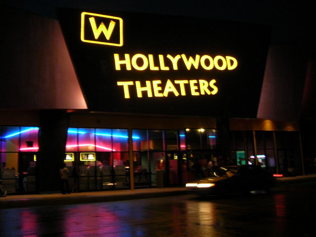 サイパンの映画館