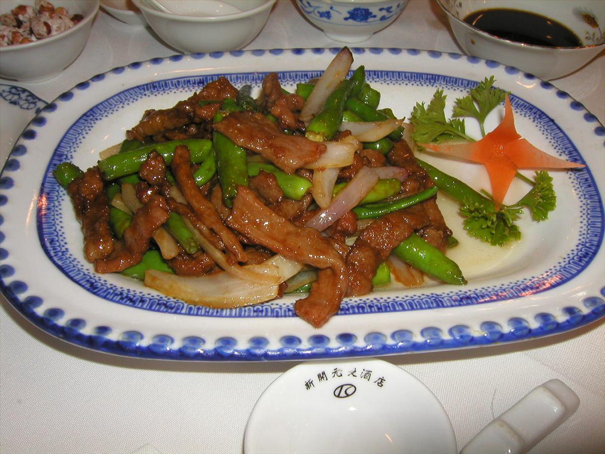 上海で食べました