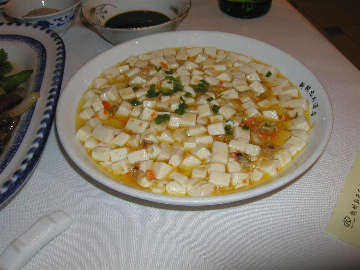 甘口麻婆豆腐
