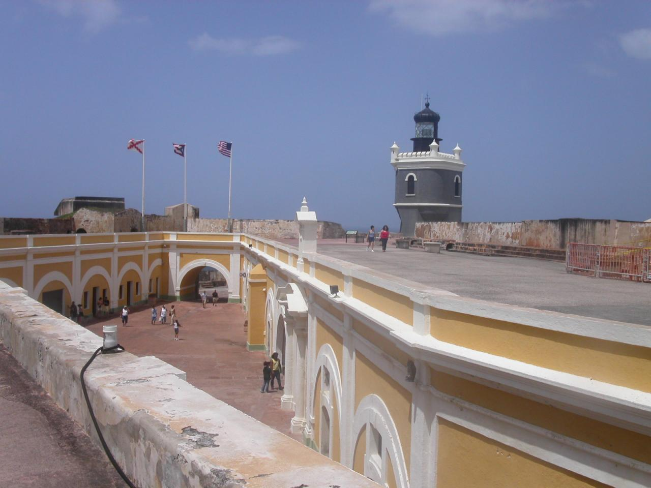 要塞の内側