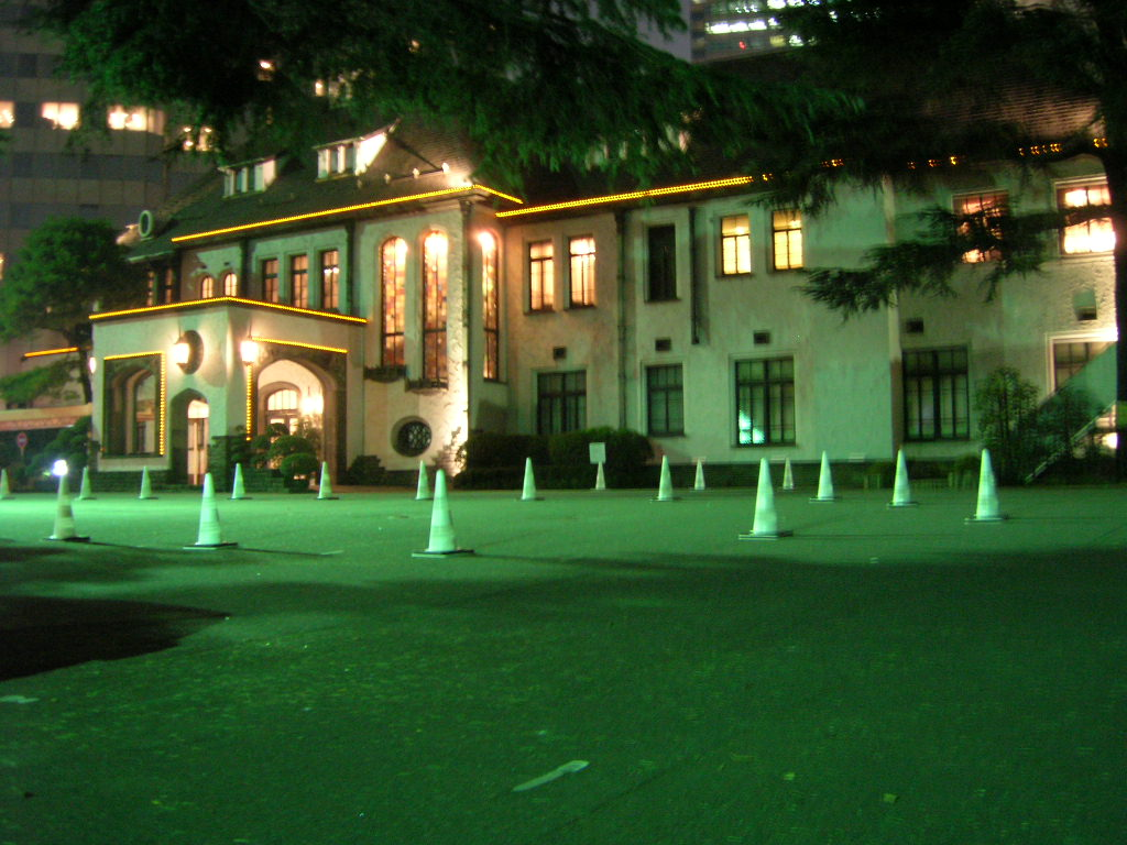 夜の赤坂プリンスホテル