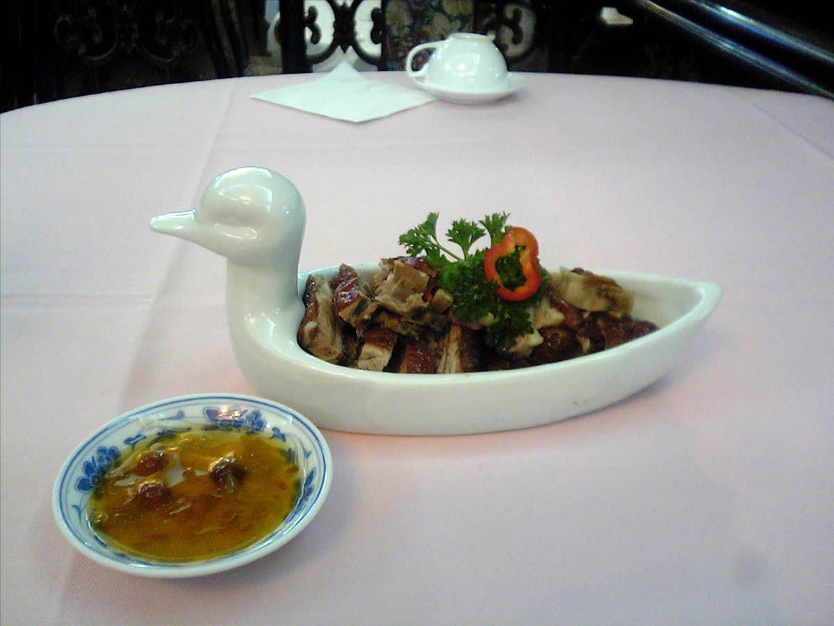 『西安城市ホテル食事(1)』