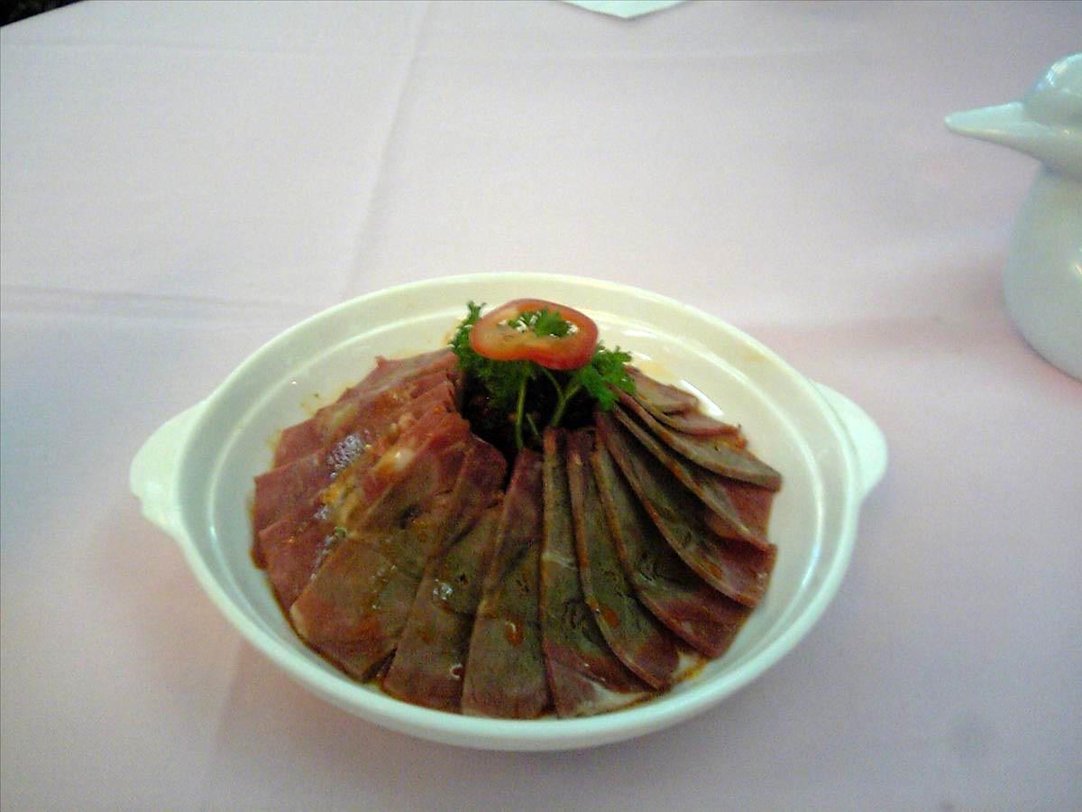 『西安城市ホテル食事(2)』