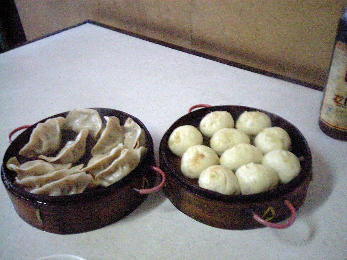 水餃子と小龍包