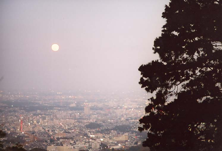 高尾山の月見2