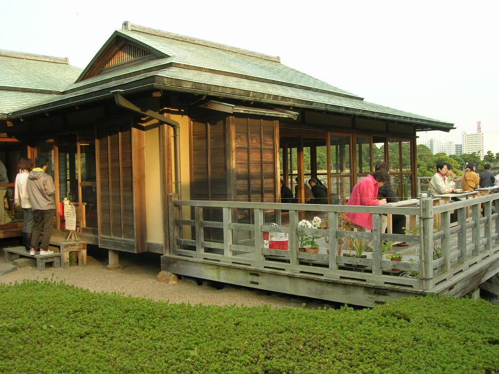 浜離宮恩賜公園内カフェ