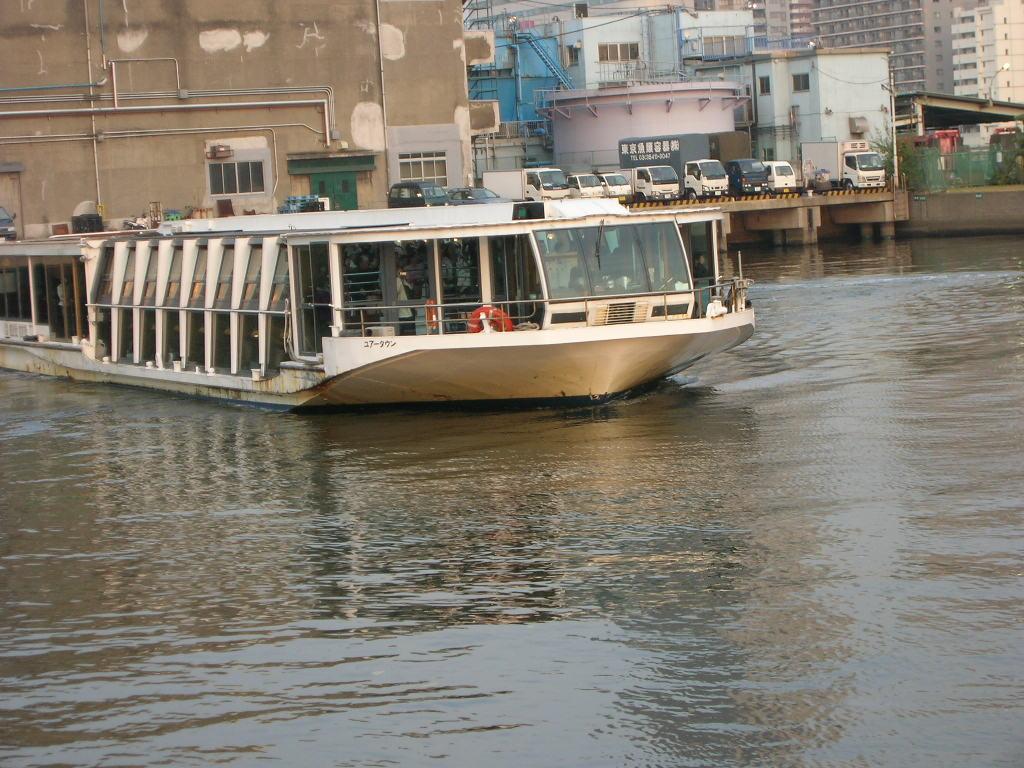浜離宮恩賜公園発着の水上バス