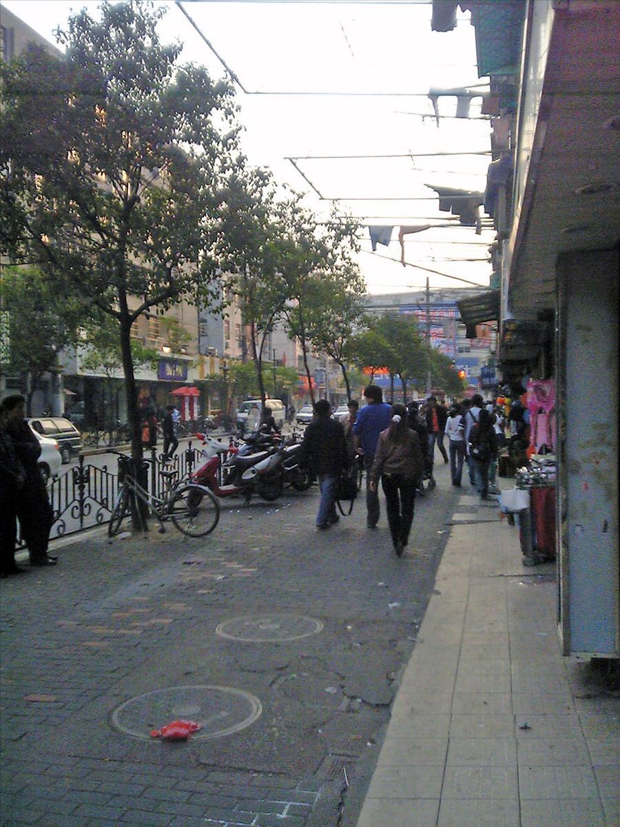 上海市の商店街 4