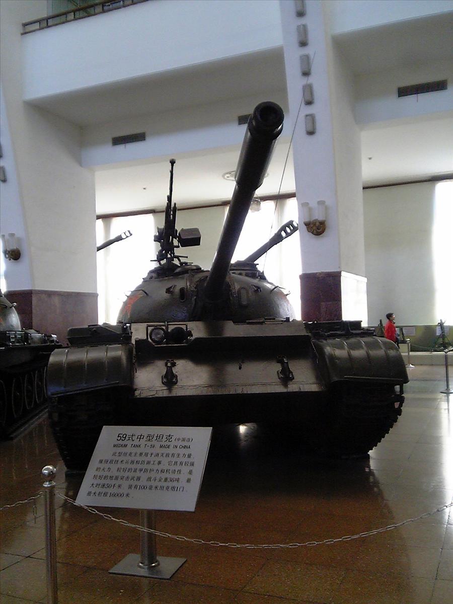 戦車の展示 続