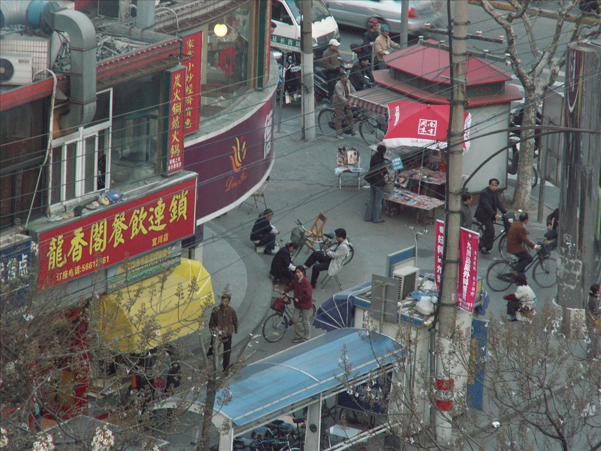 上海市内の街並み 1