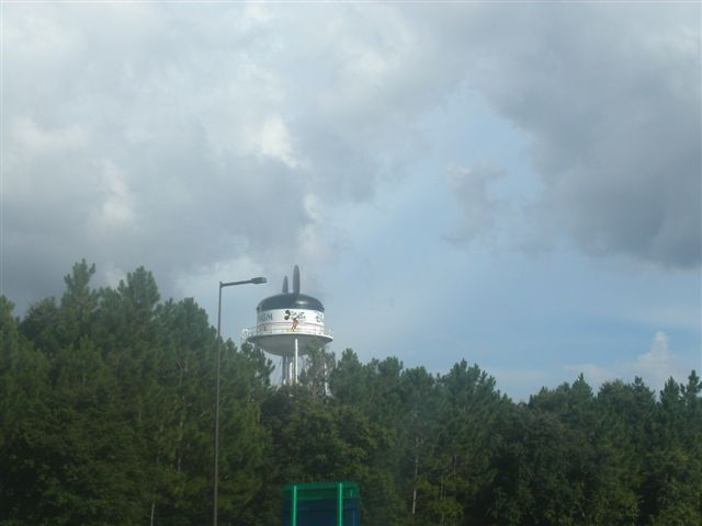 ディズニー・ワールドの給水塔
