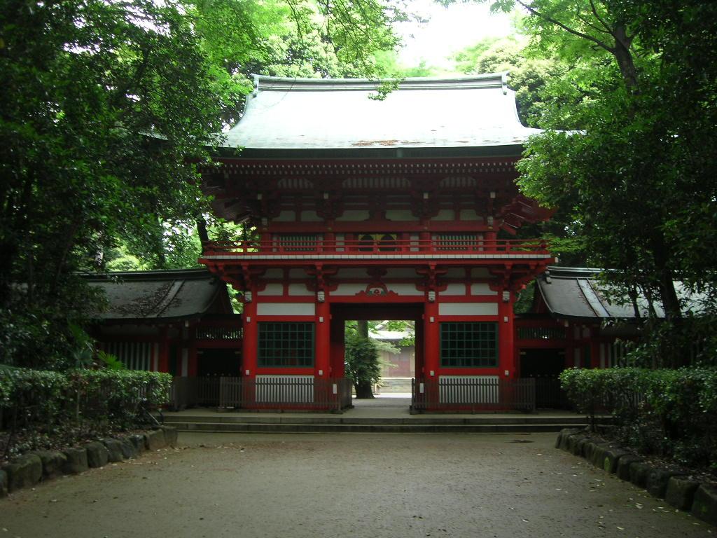 井草八幡宮社