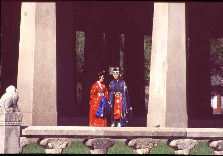 景福宮の伝統結婚式