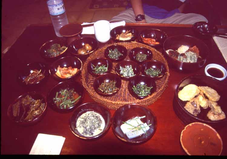 仁寺洞の山村レストラン