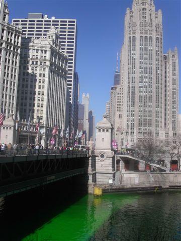 シカゴ St Patrick's Day その1