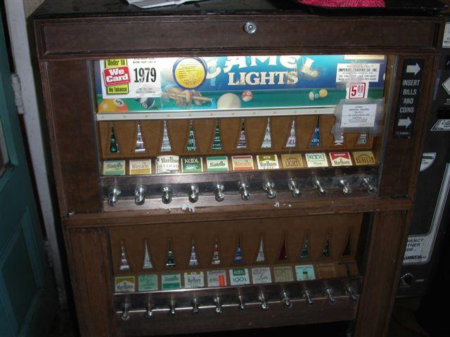 ニューオーリンズ 自動販売機